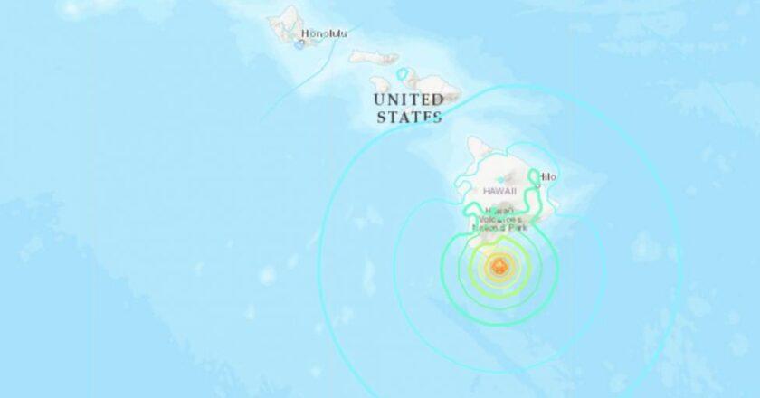 6.2-magnitude earthquake shakes Hawaii